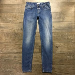 Closed Jeans Baker Long Skinny Anthropologie Sz 26